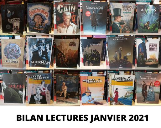 BILAN LECTURES JANVIER 2021